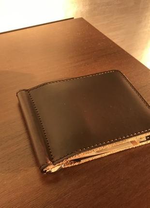 Кошелек держатель денег гаманець кожаный