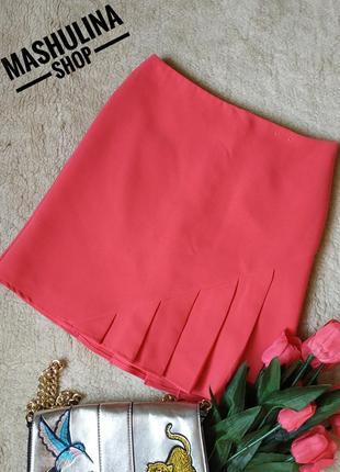 Симпатичная юбочка со складочками фирмы f&f