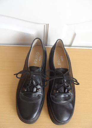 Кожаные туфли голландия