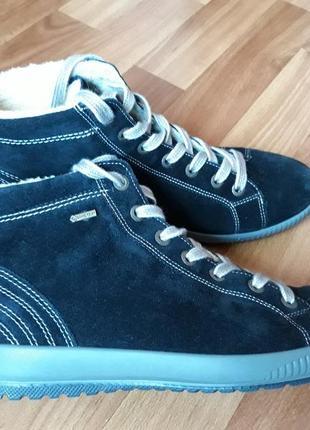 Замшевые зимние ботинки legero gore-tex размер 39