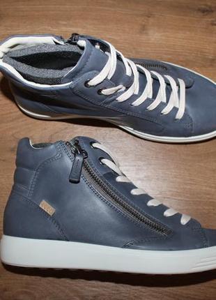 Кожаные ботинки ecco soft 7, 36 размер
