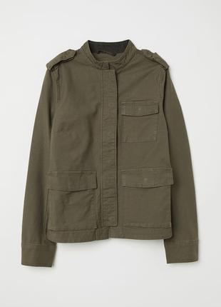 Хлопковая куртка карго