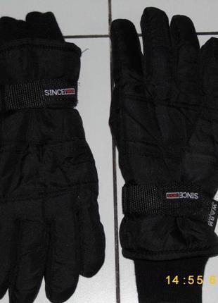Перчатки сноубордические - since 1955 warm insulation 10 размер - германия!!!