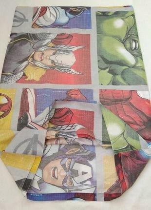 Наволочка, герои, супергерои, marvel, avengers, captain america, iron man, hulk, thor