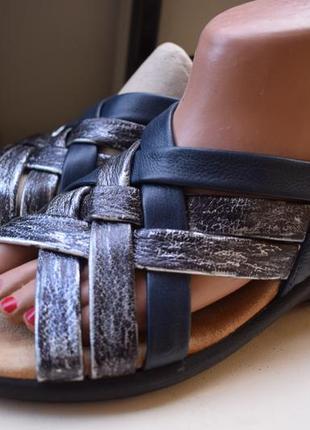 Кожаные босоножки сандали хоттер hotter р.40 26 см