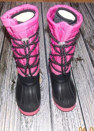 Зимние сапоги demar samanta для девочки, размер 31-32