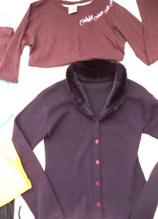 Худи фиолетовое и свитшорт в подарок