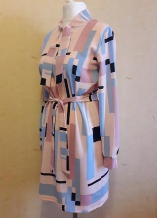 Шикарное платье свободного кроя4 фото