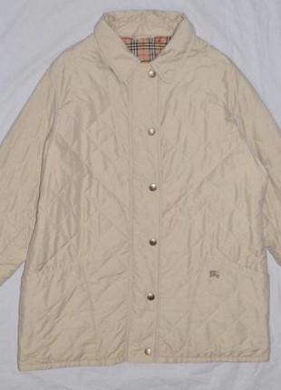 Стёганная куртка burberry l