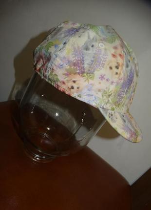 Бейсболка кепка для девочки 12-24 месяцев h&m + подарок резиночка для волос
