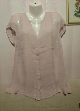 Вискозная блузочка (пог-56 см)