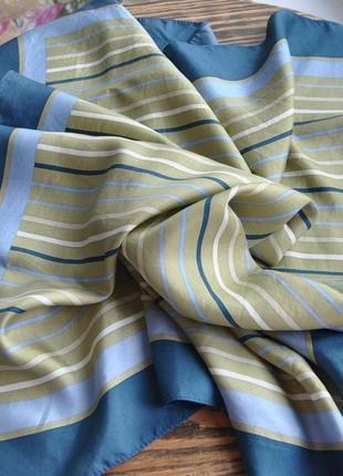 Шелковый платок шарф
