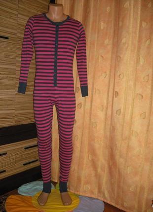 Пижама кигуруми слип человечек