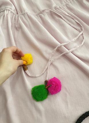 Платье свободного кроя xl нежно розовое pretty little thing7 фото