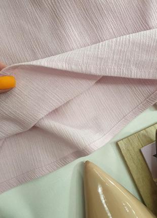 Платье свободного кроя xl нежно розовое pretty little thing8 фото