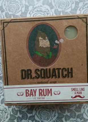 Dr.squatch мужское мыло для мытья бритья для бороды аромат для душа