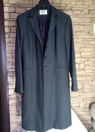 Крутой бренд,актуальное пальто,длинный жакет с шерстью