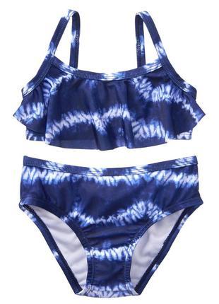 Красивий купальник в синіх тонах