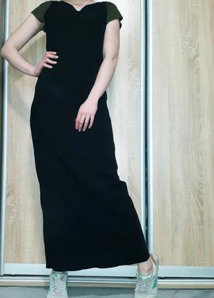 Стильное платье ровного кроя с v-образным воротом и разрезом бренда wallis