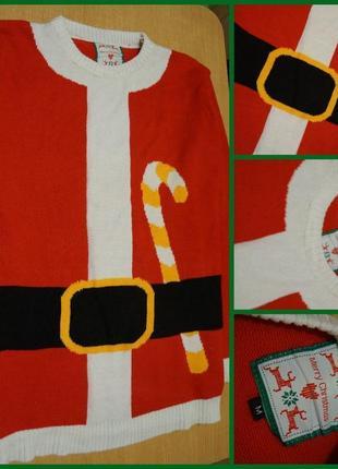Merry christmas новогодний свитер м новорічний светр