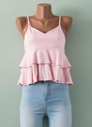 Большой выбор блуз - шикарная вискозная нежная блуза с рюшами