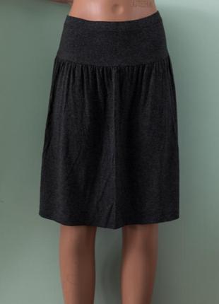 Новая с биркой легкая вискозная юбка миди