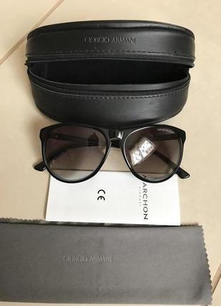 Очки солнцезащитные фирменные стильные модные armani