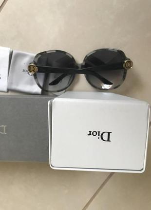 Очки солнцезащитные фирменные стильные модные dior6 фото