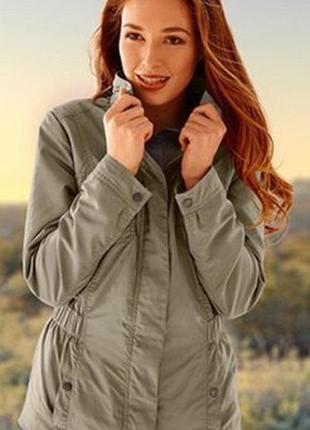 Ветровка/ куртка оливковый цвет тсм tchibo