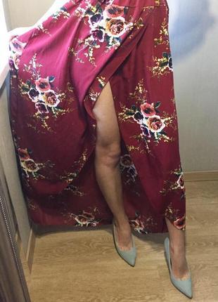 Нежное платье в пол.