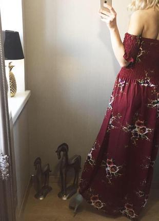 Нежное платье в пол.3 фото