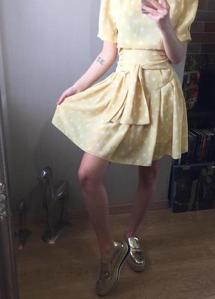 Платье в горох. тренд!
