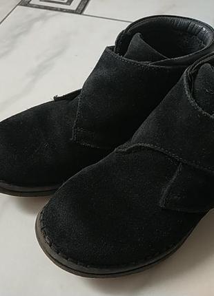 Ботинки кожа-замш 30р.