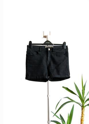 Джинсовые шорты noisy may с завышенной талией