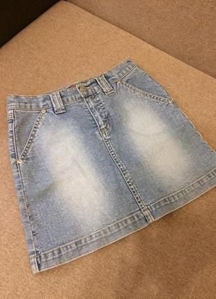 Спідниця юбка джинс
