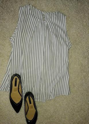Блуза в актуальну полоску хл