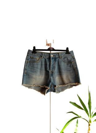 Джинсовые шорты с высокой посадкой denim co