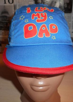 Панамка, кепка для мальчика ladybird 12 мес, хлопок, оригинал