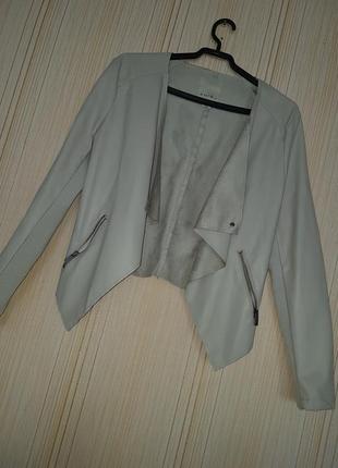 Куртка из искусственной кожи amisu