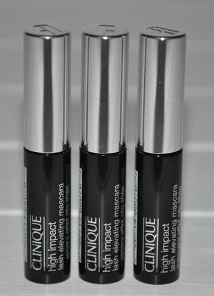 Тушь для ресниц clinique high impact lash elevating mascara {мини}  объем 4мл
