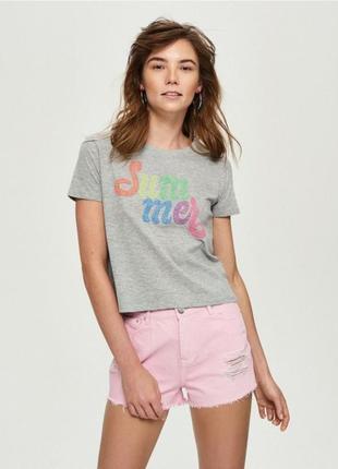 Женская футболка sinsay 1035