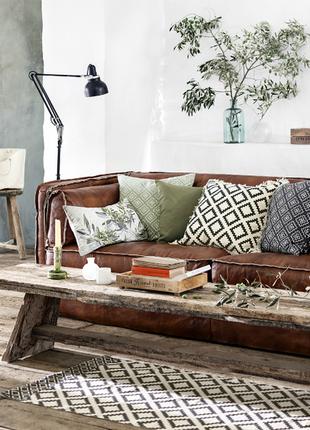 H&m home новые чехлы на подушки наволочки 100% хлопок
