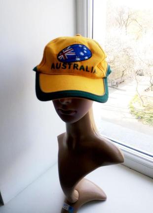 55-59 р натуральная кепка australia