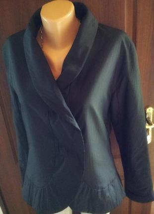 Sonja marohn качественная дизайнерская куртка- жакет в стиле annette görtz