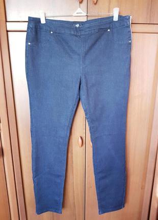 Стильные джинсы скини размера 50-52