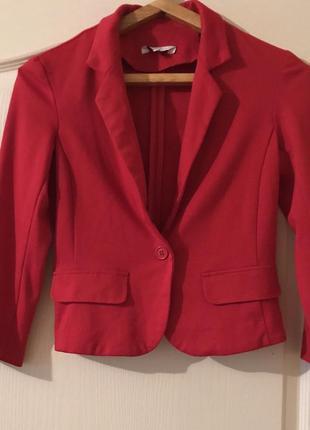 Красный пиджак new look