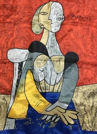 Легендарный picasso платок картина 87*87см