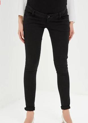 Черные джинсы для беременных mamalicious