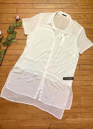 Блуза roman размер 16 белый