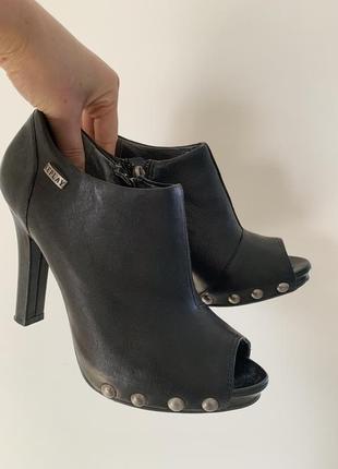 Кожаные туфли replay, размер 38